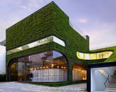 restaurant decor | Inspirational Go Green Building Architectural Design Pictures