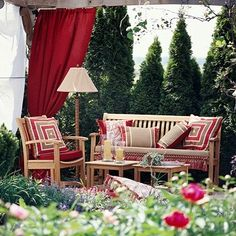 It's All in the Details, Coordinate fabric and furniture around a theme, and you can create any outdoor room!
