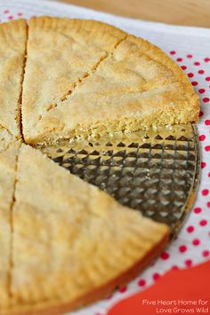 Classic Scottish Shortbread - this rich, buttery cookie is oven-ready in less than five minutes! | LoveGrowsWild.com