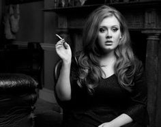 adele... minus the cigarette