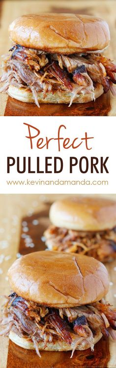 Pulled Pork Recipe — An Easy Oven Pulled Pork Recipe How to make authentic Southern Pulled Pork.How to make authentic Southern Pulled Pork. Pork Recipes, Slow Cooker Recipes, Cooking Recipes, Perfect Pulled Pork, Pulled Pork Sliders, Pork Dishes, Mets, Tostadas, Love Food
