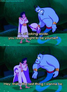 the disney princess Aladdin Quotes, Aladdin Movie, Genie Aladdin, Old Disney, Disney Magic, Disney Pixar, Pixar Quotes, Movie Quotes, Disney Movie Scenes