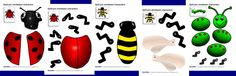 use during L is for Ladybug week... build your own bugs