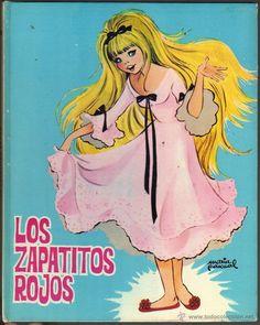 Los zapatitos rojos / La niña del cántaro. Ilustraciones de María Pascual - Foto 1