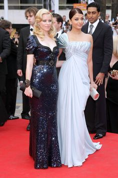 Elizabeth Banks and Aishwarya Rai 2009 Cannes Film Festival