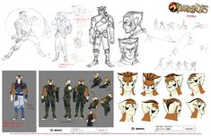 Thundercats 2011 TV Series | Thundercats-2011-Tygra-Style-Sheet-1 New Thundercats 2011 Info From ...