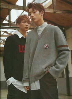 One hand in pocket Haechan, Winwin (NCT - Harper's Bazaar Magazine August Issue Taeyong, Jaehyun, Nct 127, Nct Winwin, Sm Rookies, Gray Aesthetic, Harpers Bazaar, Nct Dream, Monsta X
