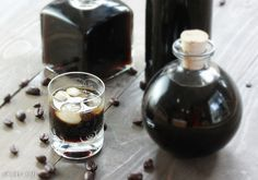 DIY Homemade Kahlua 3 versions.  What can I say?  I like Kahlua.  Don't miss the tip about adding 1 or 2 tsp of cocoa nibs...