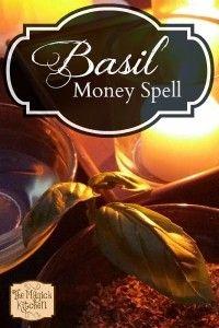 The Magick Kitchen  Basil Money Spell