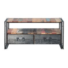 Sounds Like Home Edito TV Unit with 2 Drawers