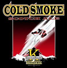 Cold Smoke Scotch Ale - The KettleHouse Brewing Co., Missoula, MT