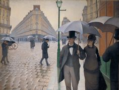 Gustave Caillebotte Paris Street rainy weather oil painting for sale; Select your favorite Gustave Caillebotte Paris Street rainy weather painting on canvas or frame at discount price. Monet, Google Art Project, Renoir, Paris Street Rainy Day, Georges Seurat, Impressionist Paintings, Impressionism Art, Oil Paintings, Art History