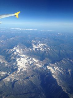 The Alps from the Plane, travelling from Saint Petersburg to Valencia (Spain) Valencia Spain, Saint Petersburg, Alps, Airplane View, Travelling, Saints, Nature, Pictures, Photos