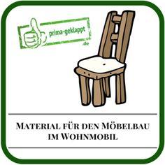 Material für den Wohnmobil-Möbelbau