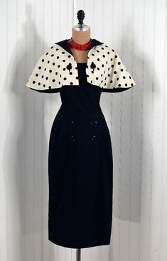 Long 1950s dress on a dime