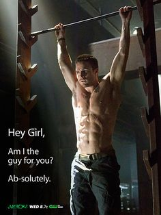 Arrow's Stephen Amell Arrow all because of Stephen Amell! Arrow all because of Stephen Amell! Stephen Amell Arrow, Arrow Oliver, Wally West, Christian Grey, Stephen Amell Workout, Chaning Tatum, Hot Guys, Warrior Workout, American Ninja Warrior