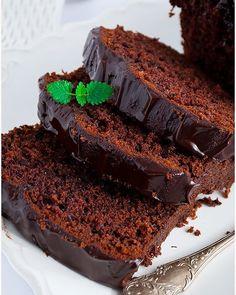Piernik przekładany powidłami i mascarpone - I Love Bake Dessert Recipes, Desserts, Tiramisu, Latte, Panna Cotta, Pancakes, Snacks, Baking, Pies