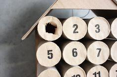 DIY Toilet Paper Roll Calendar - Morning Creativity
