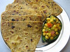 Parathas with Avocado??? quite interesting isn't it?? Recently bought a pack of flavored tortilla from a speciality store which had one variety with avocado, it was so delicious and that inspired ...