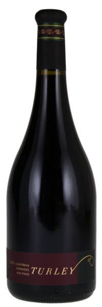 2010 Turley wine cellars zinfandel old vines california. Just the biggest Zins out there with 100 year old vines