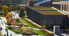 University of Connecticut | Social Science and Humanities Buildings, Storrs CT | Stephen Stimson Associates