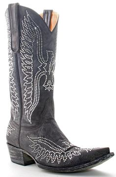I can not express my love for these! I will have them someday! Old Gringo Eagle Boots Swarovski Black $1399.99