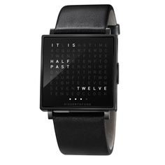 QLOCKTWO W Watch | Biegert and Funk | SUITE NY