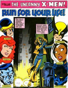 The Uncanny X-men by John Byrne Marvel Comic Universe, Marvel Comic Books, Comics Universe, Marvel Dc Comics, Marvel Characters, Comic Books Art, Marvel Heroes, Comic Book Pages, Comic Book Artists
