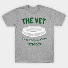 The Vet - Philadelphia Veterans Stadium T-Shirt 55f9408be