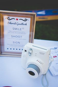 Polaroid Guest Book Quirky Red Outdoor Multicultural Chinese Tea Ceremony Wedding  http://www.bgproonline.com/