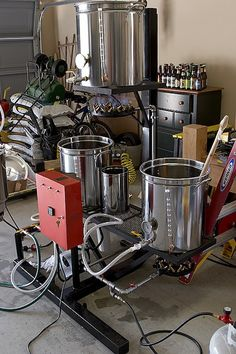 Using a Soloflex to Brew Beer