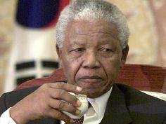*Nelson Mandela, la réconciliation autour de la tasse de thé ...thé=tea.