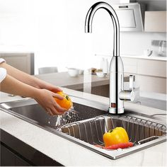 36.2$  Watch more here - Instant Electric Faucet Fast Heating Cold Hot Mixer Taps LED Display Kitchen Bathroom Deck Mounted Faucets Tap Water Heater   #buyininternet