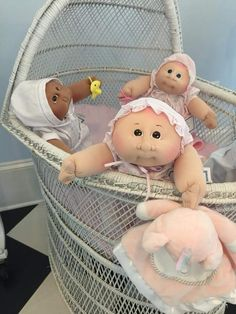 Xavier Roberts, Cabbage Patch Kids Dolls, General Hospital, Little People, Bassinet, Babys, Cute Pictures, Nostalgia, Infancy