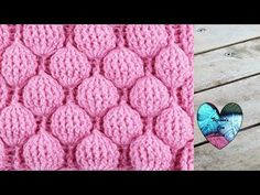 Hello everybody, Lidia Crochet Tricot (Lidia Crochet Knitting) is a channel where you can find many knitting tutorials (with a crochet, with the hooks, even. Today we are going to learn how to crochet a Balloon Stitch Baby Blanket. Crochet Stitches For Blankets, Crochet Stitches Patterns, Baby Blanket Crochet, Stitch Patterns, Knitting Patterns, Crochet Simple, Crochet Diy, Unique Crochet, Learn To Crochet