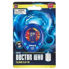 Doctor Who TARDIS Pocket Pal Talking Clip-On Key Ring