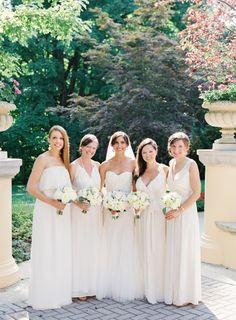 Soft, neutral palette: http://www.stylemepretty.com/2015/03/10/elegant-omni-shoreham-hotel-wedding/ | Photography: Vicki Grafton - http://www.vickigraftonphotography.com/