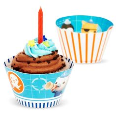 The Octonauts Party Supplies - Reversible Cupcake Wrappers (12) -- Check this awesome image : Baking tools