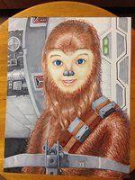 Chewkota (or my nephew Dakota as Chewbacca) by eoshek
