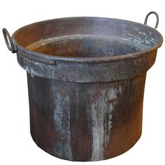 Extra Large Copper Vat | From a unique collection of antique and modern more antique and vintage finds at https://www.1stdibs.com/furniture/more-furniture-collectibles/more-antique-vintage-finds/