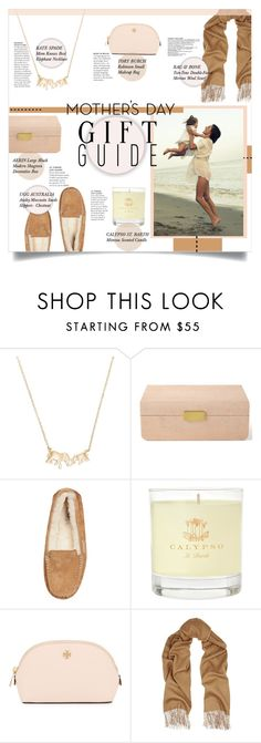 """""""Mother's Day Gift Guide"""" by mila-me on Polyvore featuring Kate Spade, AERIN, UGG Australia, Calypso St. Barth, Tory Burch and rag & bone"""