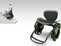 Excellent Idea for the Elderly, although a motorised version would be much more useful! Quatro Chair