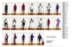 fashion lookbook layout - Google Search