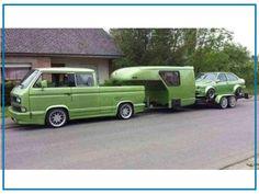 Das nennen wir mal Creative-Tuning-Camping. Euer David vom TuningTeam der www.tue-taunus.de #AutoErlebniswelt #TüTaunus #Bulli