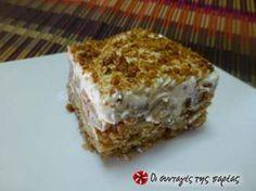 Ένα διαφορετικό γλυκό... δροσερό, ελαφρύ, ιδανικό για τους καλοκαιρινούς μήνες και όχι μόνο!!!