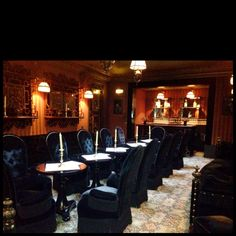 The bar at Hotel Costes in Paris, France. Nothing like the music and beautiful people.
