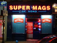 Super Mags of Soho in Brewer Street