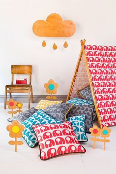 Nelly Fabric and bright colors for spring