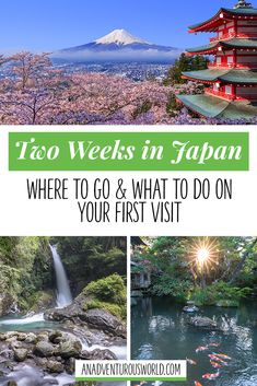 Japan Two Week Itinerary: Where to go & what to do on your first visit - Are you planning a trip to Japan? From where to go to, what to do & loads of other useful advice, this is my two week itinerary for Japan! >> Click through to read the full post! Japan Travel Guide, Asia Travel, Travel Nepal, Travel Guides, Nagasaki, Hiroshima, Kyoto, Japan Beach, Kobe Japan