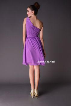 2013 Aline Knee length Lilac Bridesmaid Dress by MermaidBridal, $88.99